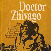 Dr.Zhivago - by Boris Pasternak - (Book Cover) - دکتر ژیواگو (اثر بوریس پسترناک ) - داستان کوتاه