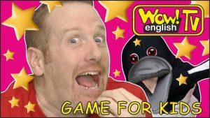 آموزش زبان به کودکان با بازی با استیو و مگی - Game For Kids From Steve And Maggie Playing With Wow English