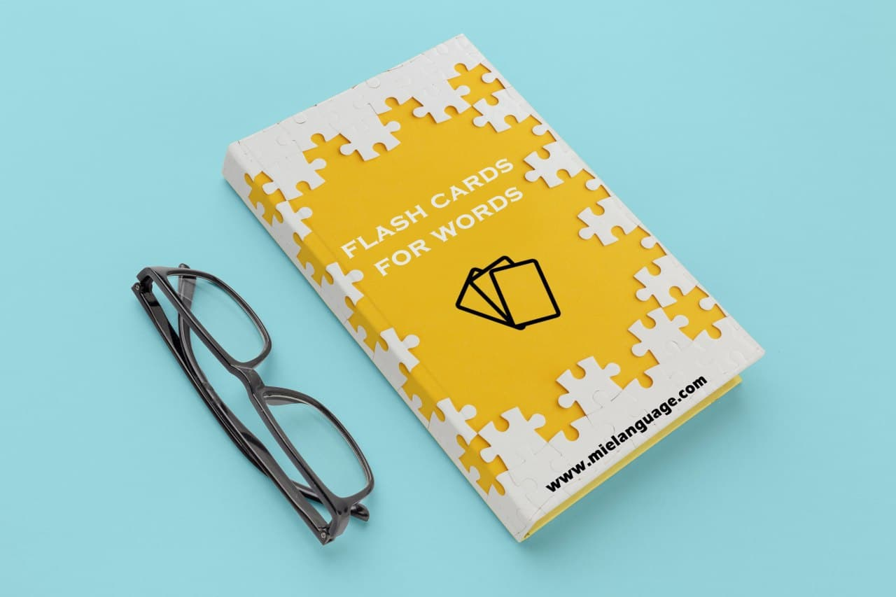 flashcards for words