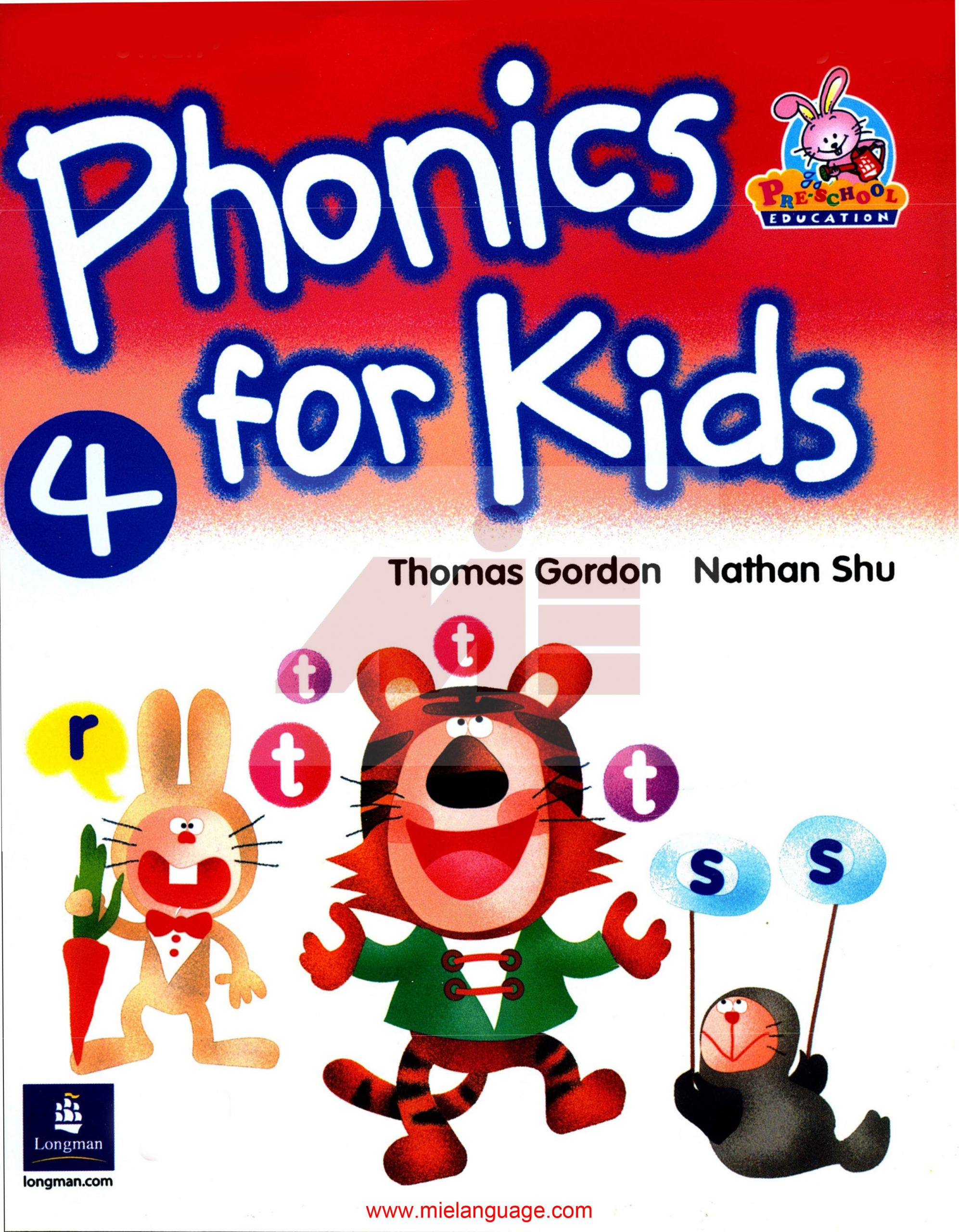 Phonics for Kids 4 Book 1 scaled